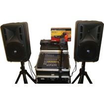 Sonido Profesional Yamaha Rcf Ideal Para Cantantes Y Grupos
