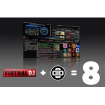 Programas De Djs! Virtual Dj Pro 8 + Traktor Pro 2