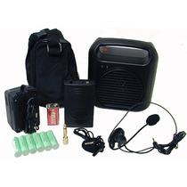 Sistema Hisonic Hs-110r De Megafonia Inalambrica/grabador