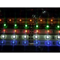 Tiras Led X Metro Modelo 3528 Blanca,azul,verde,roja,ambar