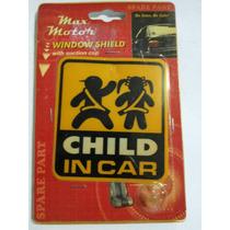 Aviso Pequeño Ideal Para Transporte Escolar Niños En El Auto
