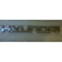 Emblema Hyundai 18.3 X 2cm