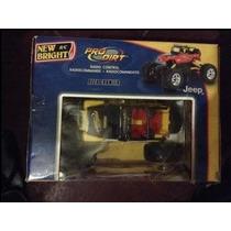 Carro Jeep A Control Remoto 4x4 Rock Crawler New Bright