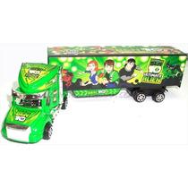 Camion Plastico Juguete Para Niños Ben 10 Y Cars Gandola