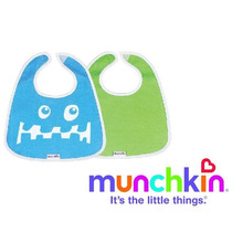 Set De 2 Baberos Para Bebes Munchkin!!!