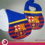 Babero Y Buchero Del Barca Barcelona Fc Futbol
