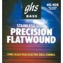 Cuerdas Bajo Ghs Precision Flatwound 45-105 Medium
