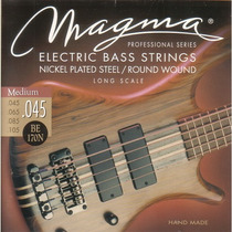 Set De Cuerdas Para Bajo Magma Profesional 4c 045-105
