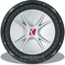 Bajo Kicker Cvr 12 Pulg 800w 400rms Dvc 4-ohm El Original