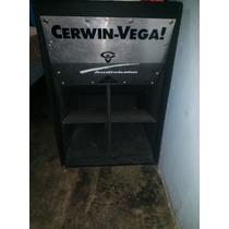 Caja Cerwin Vega Para Bajo De 15 Pulgadas Y Sp4 Casero