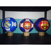 Balon De Futbol Barcelona Y Real Madrid