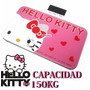 Báscula Balanza Digital 150kg Hello Kitty Vidrio Templado