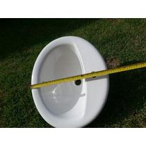 Lavamano Para Empotrar, Color Blanco; Medidas 52x44x21 Cm