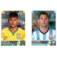 Barajitas Detalladas Album Copa America Al Mejor Precio