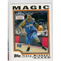 Cv Tracy Mcgrady 2004 Toops Especial Orlando Magic Nba