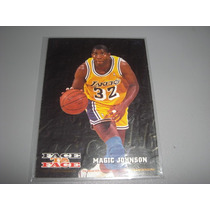 Cv Especial Magic Johnson 1994 Hoops Face To Face Lakers Nba