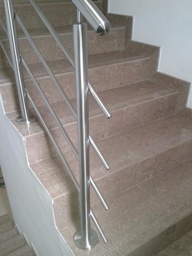 Barandas en acero inoxidable escaleras topes pasamanos - Pasamanos de acero inoxidable para escaleras ...