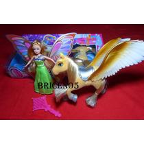 Muñeca Hada Bettina Con Pony O Pegaso Para Las Niñas De Casa
