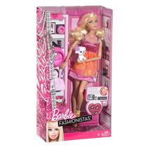 Barbie Fashionista Con Mascota