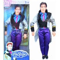Muñeco Principe Hans Novio Anna Frozen Elsa Juguete Niña Ken