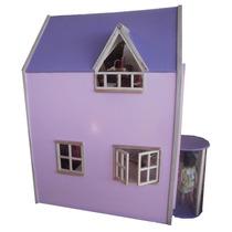 Casa De Muñecas Barbie En Madera De Juguete