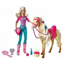 Barbie Y Su Caballo Tawny Original Mattel