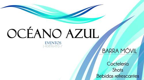 Barra Móvil, Cocteleria, Bebidas Refrescantes, Cocteles.