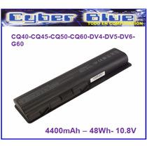 Bateria Para Hp Compaq Cq40 Cq50 Cq60 Dv4 Dv5 Dv6 G60