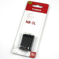 Bateria Canon Nb 3l Original Nueva En Blister Pila Litio