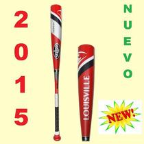 Bate Louisville Slugger 2015 Omaha 31x21 Bombona 2 3/4 Nuevo