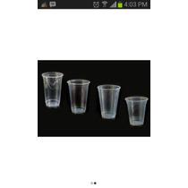 Vasos Desechables Transparentes Y Vaso Playero O Licorero