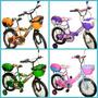 Bicicletas Rin 12, 16 Y 20 Plt Platinium Nuevas En Sus Cajas