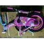 Bicicleta Platinium Para Niña Rin 12 Nueva Color Rosa