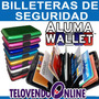 Aluma Wallet Cartera-billetera Protectora D Aluminio 9colore