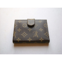Billetera O Monedero De Dama Louis Vuitton Lv De Cuero