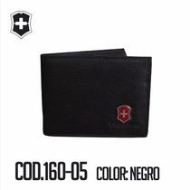Cartera,billetera Caballero Victorinox 100% Cuero
