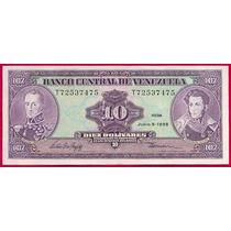 Billete De 10 Bolívares Junio 5 De 1995 T8 Sin Circular