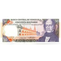 Billete De 50 Bolívares Mayo 31 De 1990 Serial C8