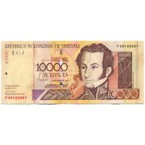 Billete De 10.000 Bolívares Mayo 25 De 2004 Serial F8