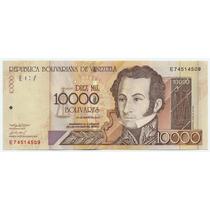Billete De 10.000 Bolívares Mayo 25 Del 2004 Serial E8