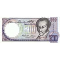 ( Geraval ) Billete De Venezuela Bs. 500 Febrero 5 1998 R8