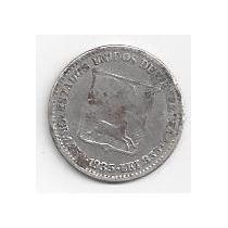 Moneda De Plata 1935, 1/4 De Bolívar N°2 - Medio
