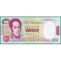 Billete De 1000 Bolívares Febrero 1998 K9 Sin Circular