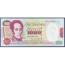 Billete De 1000 Bolívares Febrero 1998 M9 Sin Circular