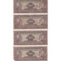 Billetes Antiguos Venezolanos Combo 3 - Fuera De Circulacion