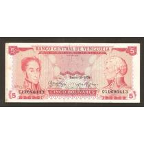 Korotomania-el Billete Mas Dificil De 5 Bs Enero 29-1974 C8