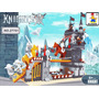 Castillo Y Caballeros Medievales Tipo Lego