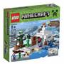Lego Minecraft 21120: La Guarida En La Nieve