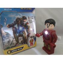 Lego Super Heroes Avengers Con Linterna De Poder De 7.5 Cm