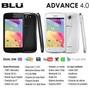 Teléfono Blu Advance 4.0 Doble Sim Card Color Blanco